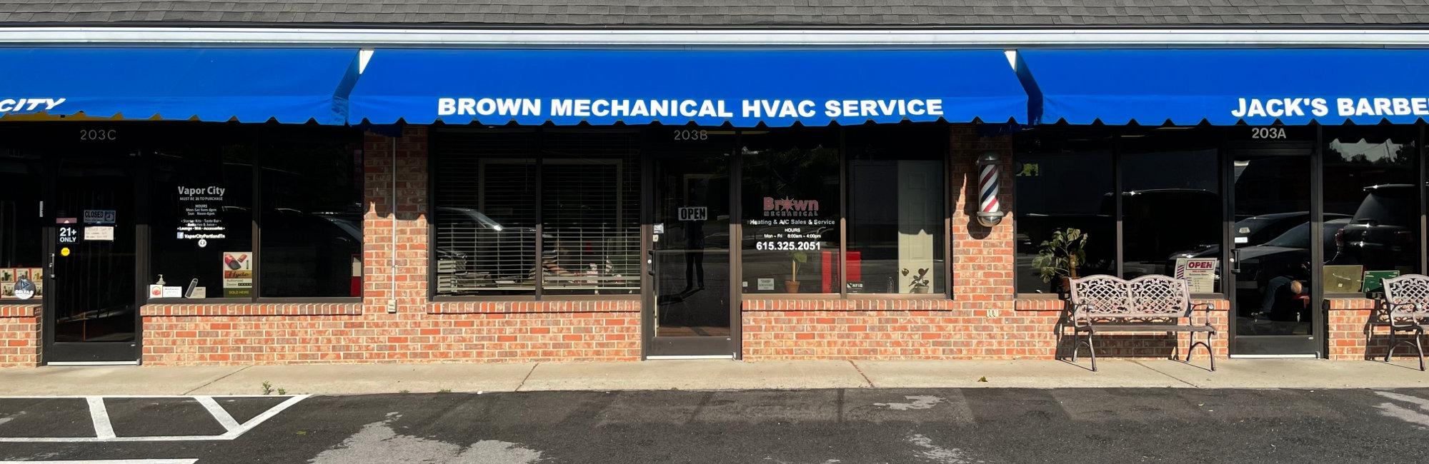 Brown Mechanical Office - Portland, TN